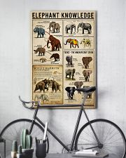 Elephant Knowledge 16x24 Poster lifestyle-poster-7