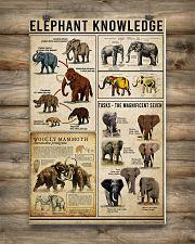 Elephant Knowledge 16x24 Poster poster-portrait-16x24-lifestyle-12