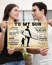 Surfing To My Son 17x11 Poster poster-landscape-17x11-lifestyle-20