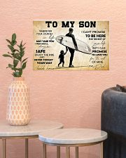 Surfing To My Son 17x11 Poster poster-landscape-17x11-lifestyle-21