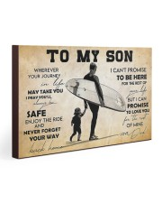 Surfing To My Son Gallery Wrapped Canvas Prints tile