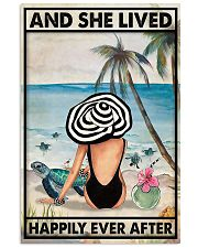 Turtle And She Lived Happily Ever After 11x17 Poster front