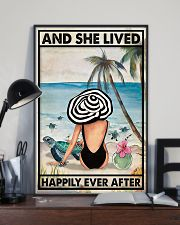 Turtle And She Lived Happily Ever After 11x17 Poster lifestyle-poster-2