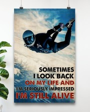 Skydiving I'm Still Alive 11x17 Poster aos-poster-portrait-11x17-lifestyle-19