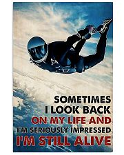 Skydiving I'm Still Alive 11x17 Poster front