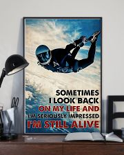 Skydiving I'm Still Alive 11x17 Poster lifestyle-poster-2