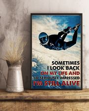 Skydiving I'm Still Alive 11x17 Poster lifestyle-poster-3