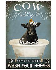 Cow Bath Soap Established Wash Your Hooves 11x17 Poster front