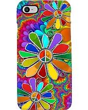 Hippie Flowers Phone Case i-phone-8-case