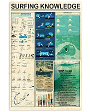 Surfing Knowledge Vertical Poster tile