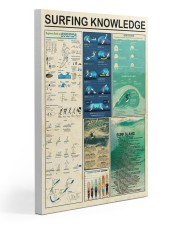 Surfing Knowledge Gallery Wrapped Canvas Prints tile