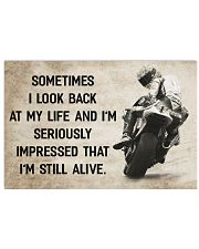 Motorcycle - I'm Still Alive 17x11 Poster front