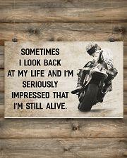 Motorcycle - I'm Still Alive 17x11 Poster poster-landscape-17x11-lifestyle-14