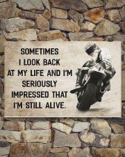 Motorcycle - I'm Still Alive 17x11 Poster poster-landscape-17x11-lifestyle-16