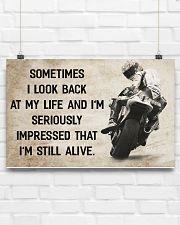 Motorcycle - I'm Still Alive 17x11 Poster poster-landscape-17x11-lifestyle-17