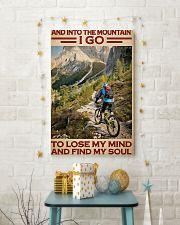 Into Mountain Cycling 11x17 Poster lifestyle-holiday-poster-3