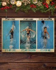 Swimming It's Not A Phase It's My Life  17x11 Poster aos-poster-landscape-17x11-lifestyle-27