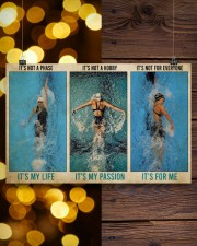Swimming It's Not A Phase It's My Life  17x11 Poster aos-poster-landscape-17x11-lifestyle-29
