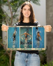 Swimming It's Not A Phase It's My Life  17x11 Poster poster-landscape-17x11-lifestyle-19