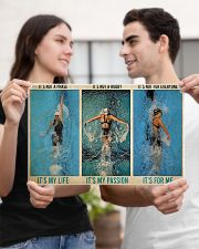 Swimming It's Not A Phase It's My Life  17x11 Poster poster-landscape-17x11-lifestyle-20