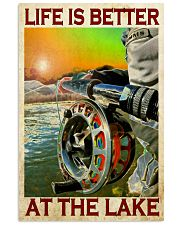 Fishing - Life Is Better At The Lake 11x17 Poster front