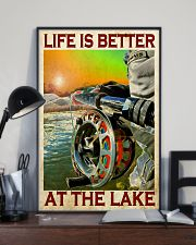 Fishing - Life Is Better At The Lake 11x17 Poster lifestyle-poster-2