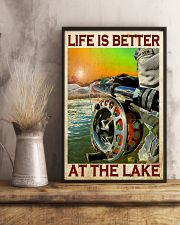 Fishing - Life Is Better At The Lake 11x17 Poster lifestyle-poster-3
