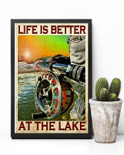 Fishing - Life Is Better At The Lake 11x17 Poster lifestyle-poster-8