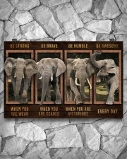 Elephant - Be Awesome Every Day 17x11 Poster aos-poster-landscape-17x11-lifestyle-13