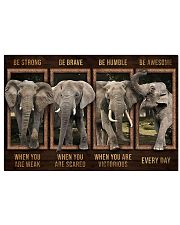 Elephant - Be Awesome Every Day 17x11 Poster front