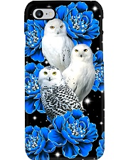 Owls And Flowers Phone Case i-phone-7-case