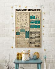 Swimming Knowledge 16x24 Poster lifestyle-holiday-poster-3