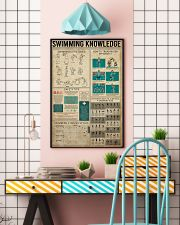 Swimming Knowledge 16x24 Poster lifestyle-poster-6