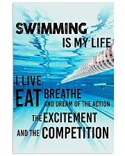 Swimming Is My Life 11x17 Poster front
