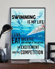 Swimming Is My Life 11x17 Poster lifestyle-poster-2