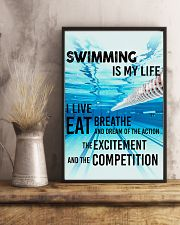Swimming Is My Life 11x17 Poster lifestyle-poster-3
