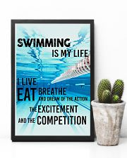 Swimming Is My Life 11x17 Poster lifestyle-poster-8