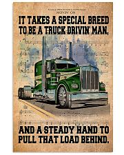 Trucker - It Takes A Special Breed To Be A Trucker 11x17 Poster front