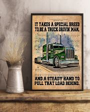 Trucker - It Takes A Special Breed To Be A Trucker 11x17 Poster lifestyle-poster-3