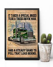 Trucker - It Takes A Special Breed To Be A Trucker 11x17 Poster lifestyle-poster-8