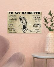 Skiing To My Daughter 17x11 Poster poster-landscape-17x11-lifestyle-22