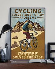 Cycling Solves Most Of My Problems 11x17 Poster lifestyle-poster-2