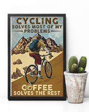Cycling Solves Most Of My Problems 11x17 Poster lifestyle-poster-8