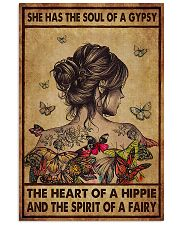 Hippie She Had The Soul Of A Gypsy  11x17 Poster front