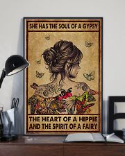 Hippie She Had The Soul Of A Gypsy  11x17 Poster lifestyle-poster-2