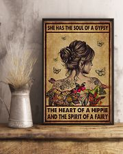 Hippie She Had The Soul Of A Gypsy  11x17 Poster lifestyle-poster-3