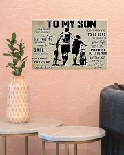Cycling To My Son 17x11 Poster poster-landscape-17x11-lifestyle-21