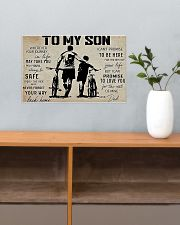 Cycling To My Son 17x11 Poster poster-landscape-17x11-lifestyle-24
