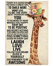 Giraffe - Today Is A Good Day 11x17 Poster front
