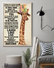 Giraffe - Today Is A Good Day 11x17 Poster lifestyle-poster-1